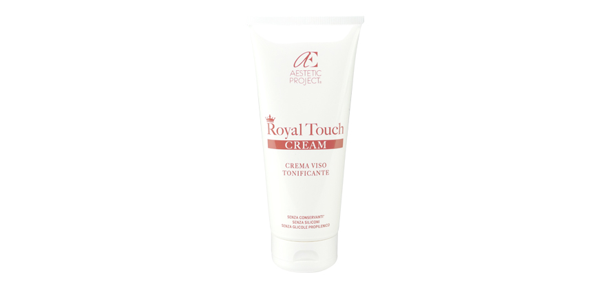 Crema viso antiage Royal Touch di Aestetic Project