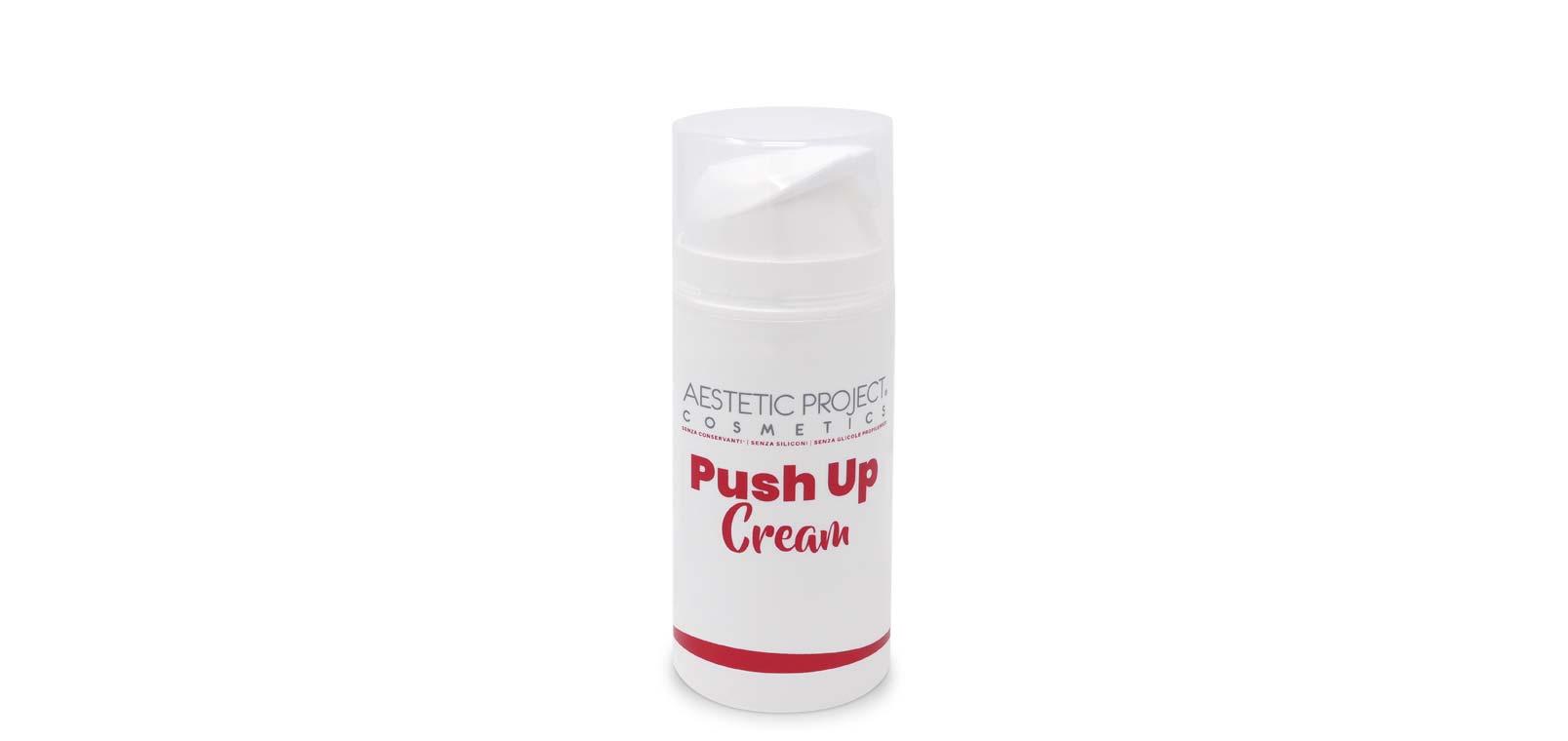 Crema Push Up, proseguimento del trattamento professionale rimodellante glutei Lato B