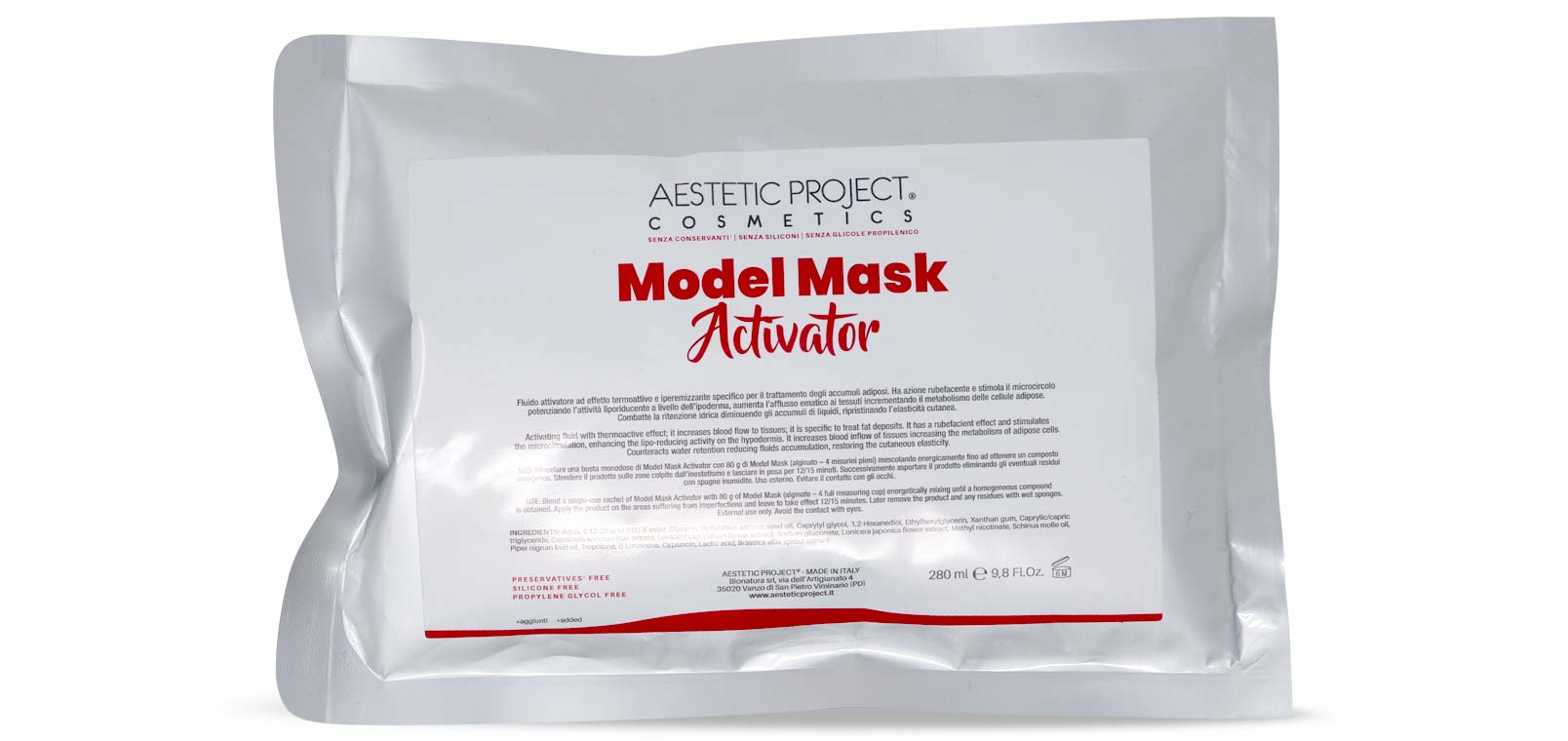 Model Mask Activator: Trattamento estetico professionale rassodante glutei Lato B