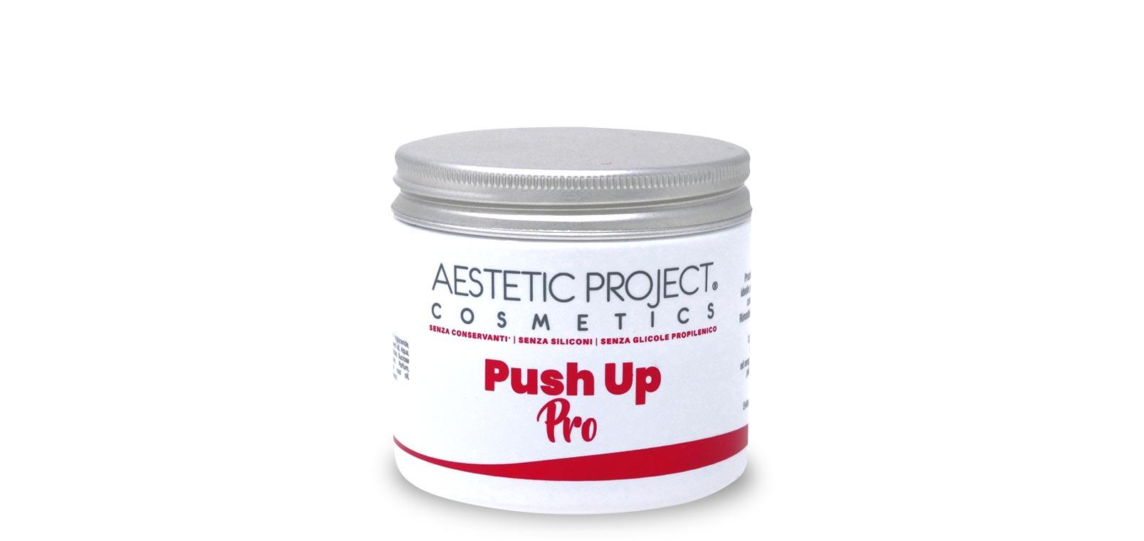 Push up pro: crema per massaggi  Trattamento estetico professionale rassodante dei glutei Lato B